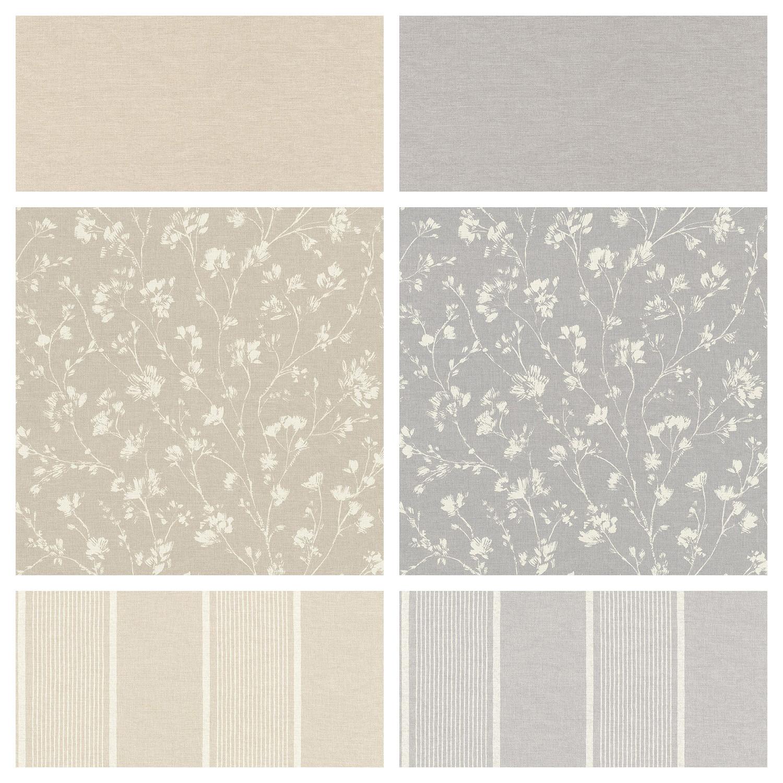 Rasch Freundin Iii Wallpaper Paste The Wall Linen Effect Floral